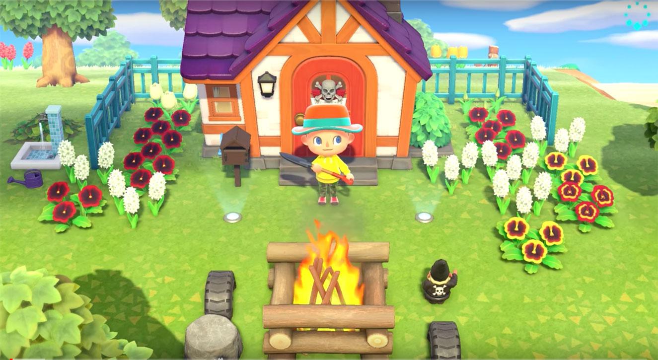 nintendo switch animal crossing gameplay